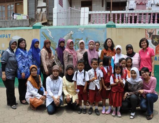 Kegiatan Sosialisasi di SDN Jaya Giri